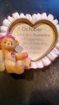 CHERISHED TEDDIES OCTOBER HEART - $1.98