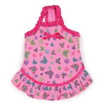 Teacup Tiny Dog Butterfly Garden Dog Pet Puppy Dress Skirt Shirt Jacket ... - $8.99