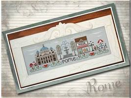 Afternoon In Rome cross stitch chart Country Cottage Needleworks - $7.20