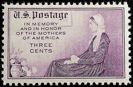 """1934 3c Mothers Day, """"Whistler's Mother"""" Scott 737 Mint F/VF NH - $0.99"""