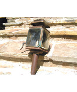 Antique Carriage Lamp Lantern Buggy Auto Beveled glass BZ - $199.99