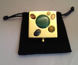 Estee Lauder ALL FORTUNES 2011 Compact - Malachite Lapis Tiger Eye Rose ... - $65.00