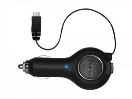 Samsung Convoy 2 Premium Auto Car Charger With 3ft Retractable Cord Buil... - $7.18