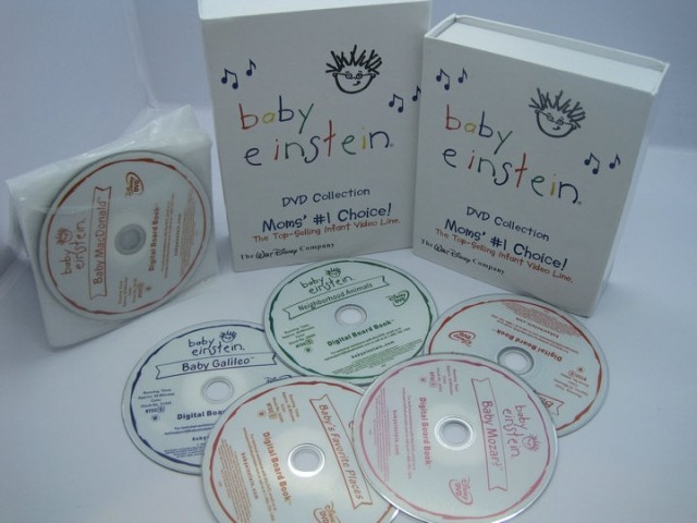 Baby Einstein Collection DVD Box Set 26 Disc Mom's Choice Free Shipping New