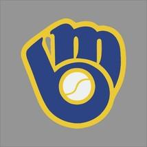 Milwaukee Brewers #5 MLB Team Logo Vinyl Decal Sticker Car Window Wall Cornhole - $4.40+