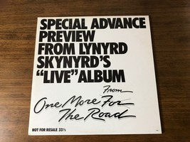 LYNYRD SKYNYRD ~ SPECIAL ADVANCED PREVIEW PROMO ONE MORE FOR THE ROAD ~ ... - $371.25