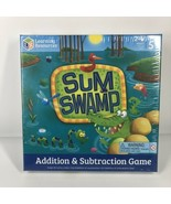 Learning Resources LER5052 Sum Swamp Addition  Subtraction Game, Ages 5+... - $11.75