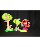Lalaloopsy Sew Magical Sew Cute TreeHouse mini Ferris wheel tea cup seat... - $29.95