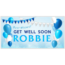 Get Well Soon Feel Better Surgery Chemo Cancer Treatment Banner Decoration - €19,23 EUR