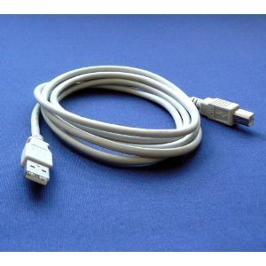Primary image for HP PS6520 Photo Printer Compatible USB 2.0 Cable Cord for PC, Notebook, Macbo...
