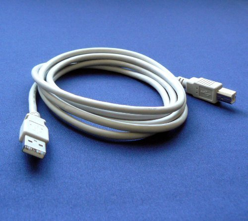 Primary image for Epson Stylus NX420 Printer Compatible USB 2.0 Cable Cord for PC, Notebook, Ma...