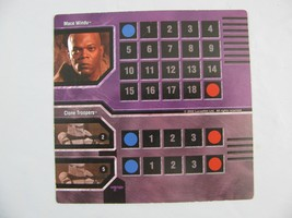 Star Wars EPIC DUELS Character Cards Mace Windu... - $4.94