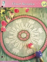 Tulip Circle Doily Floral Beauties HOWB Crochet Pattern - 30 Days To Shop & Pay! - $1.59