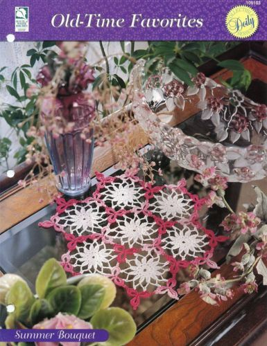 Primary image for Summer Bouquet Old Time Favorites Crochet Doily Pattern - 30 Days to Shop & Pay!