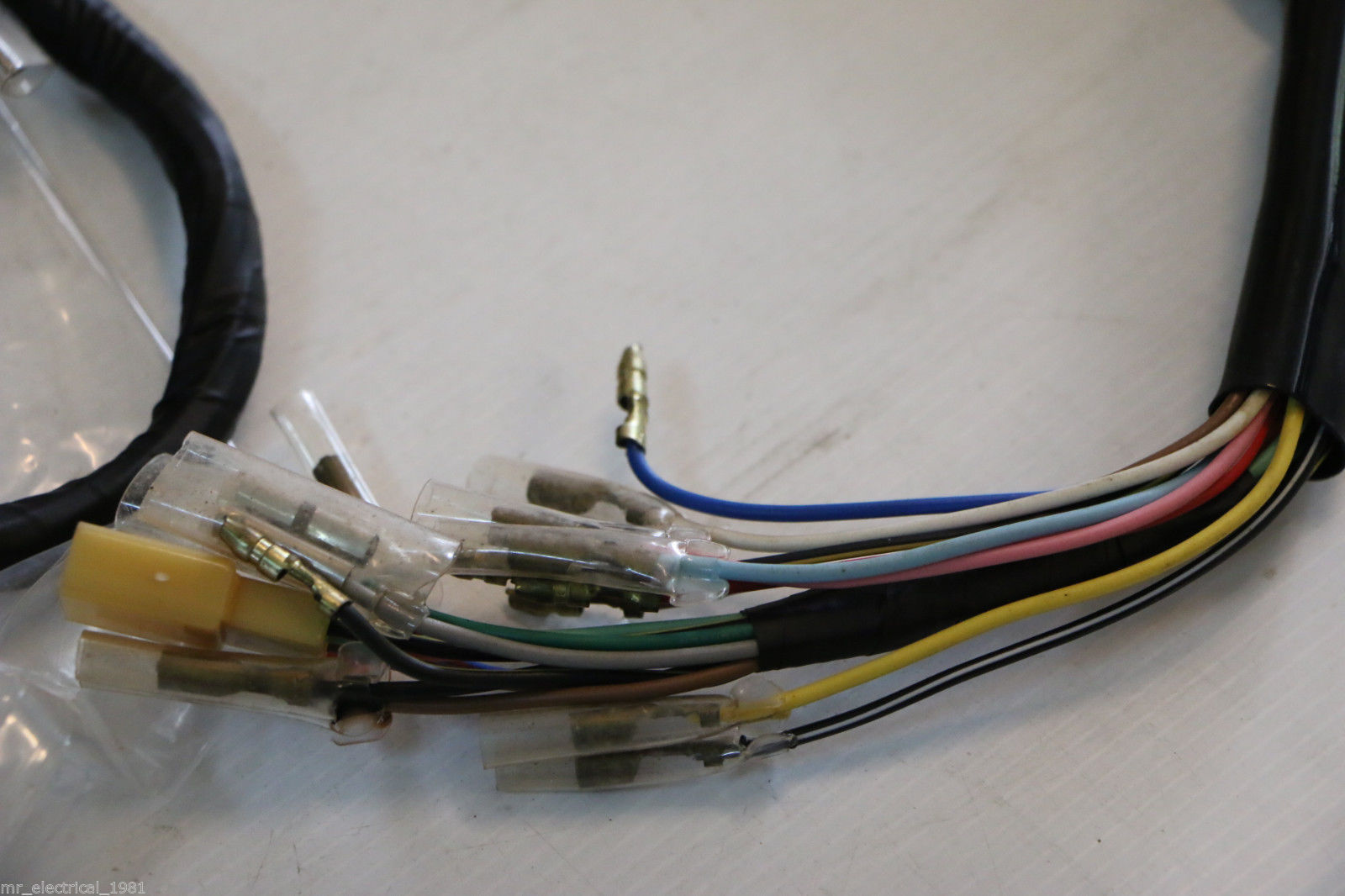 Genuine Kawasaki 100 Sport G7 G7e G7t Wiring And Similar Items Wire Harness Nos