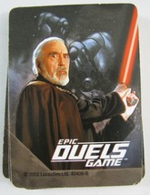 Star Wars Epic Duels Count Dooku 31 Card Deck R... - $5.93