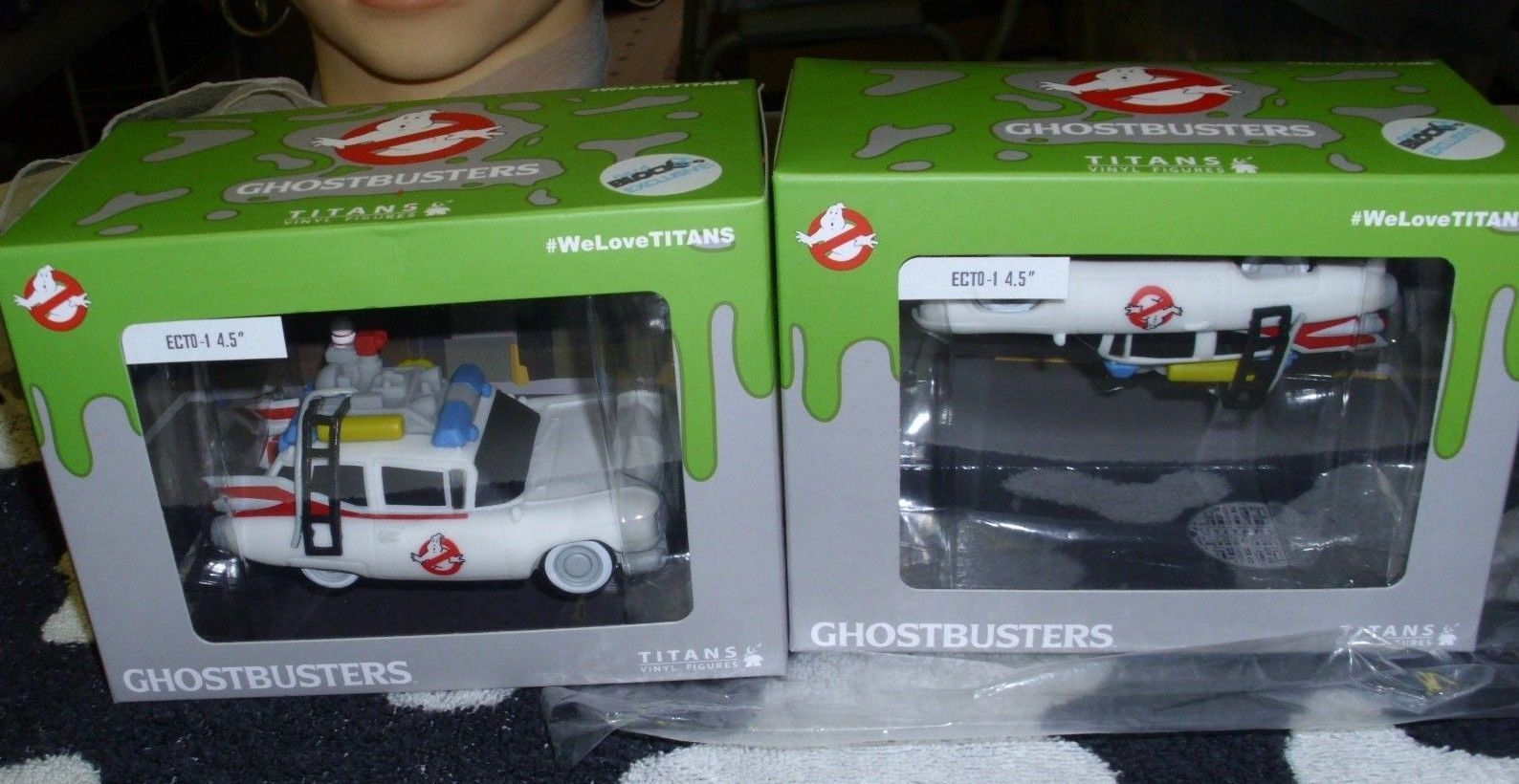 Primary image for Titans Vinyl Figures ECTO-1 Ghostbusters Wagon Nerd Block Excl. & Factory Error!