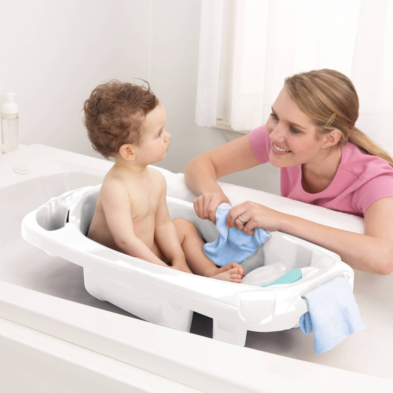 baby bath tub 1 year newborn infant child toddler shower bathtub bathing nursery bath tubs. Black Bedroom Furniture Sets. Home Design Ideas