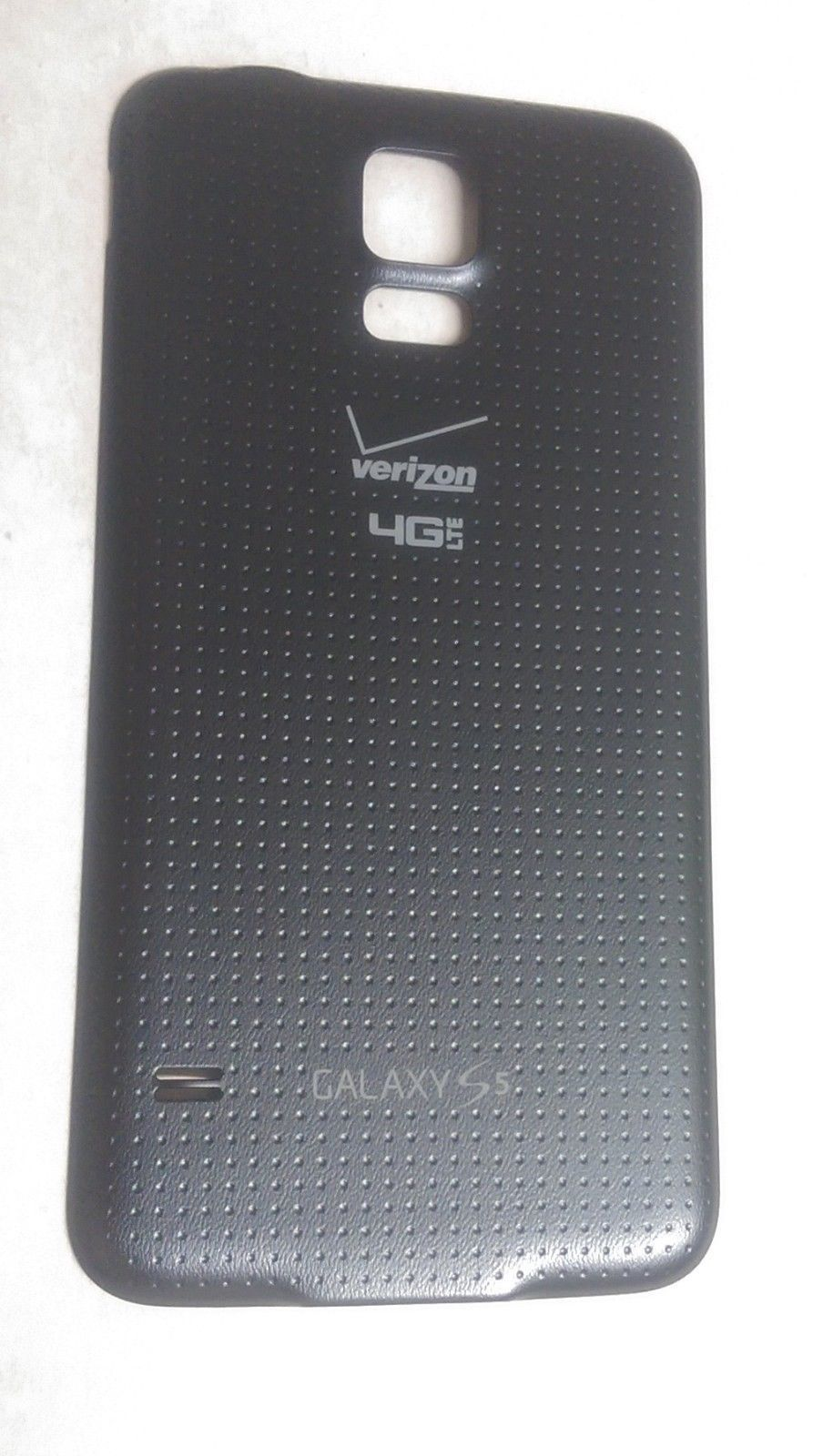 Primary image for OEM Samsung Galaxy S5 G900V Battery Door Back Cover - Charcoal Black - Verizon