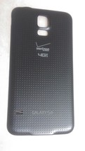 OEM Samsung Galaxy S5 G900V Battery Door Back Cover - Charcoal Black - V... - $9.89