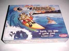 Playroom Entertainment Cowabunga Card Game Surfing Steer Reinhard Staupe... - $17.81