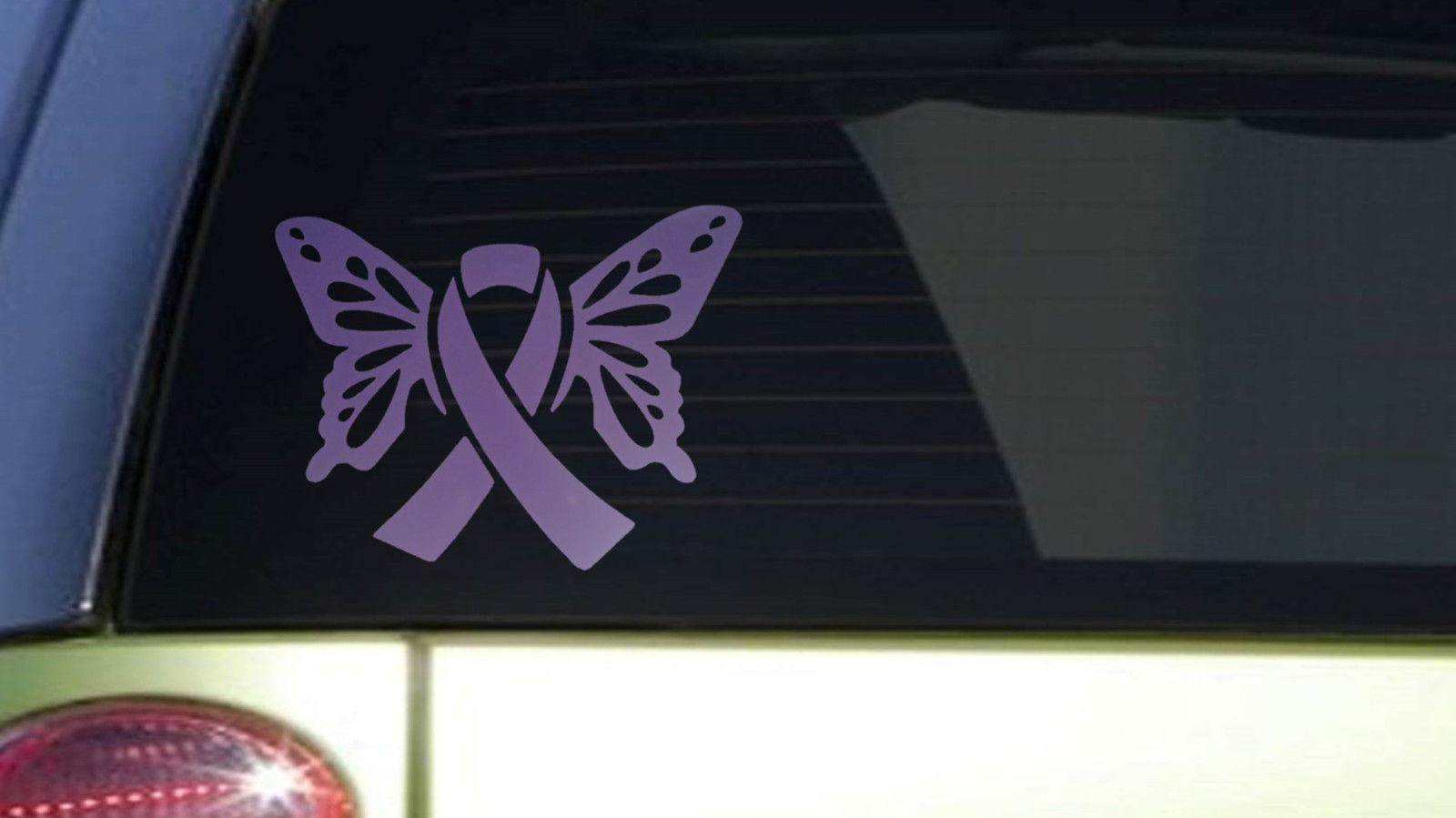 Primary image for Lupus Butterfly *I399* 6x8 inch Sticker decal purple awareness cure