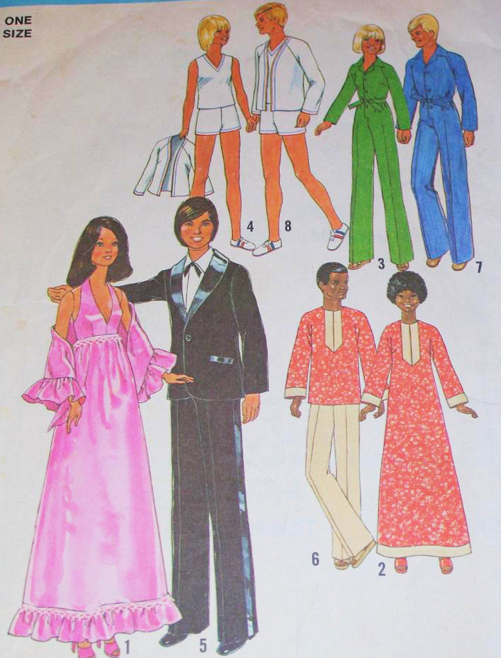 Simplicity 7737 Vintage 1970s Pattern Barbie and 50 similar items