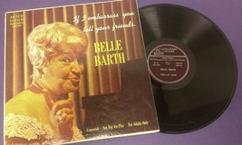 Belle Barth - If I Embarrass You - Tell Your Friends - After Hour - Viny... - £4.58 GBP
