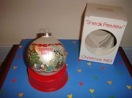 Schmid 1983 Walt Disney Christmas Ornament 10th In Series - $15.99