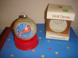 Schmid 1978 Walt Disney Christmas Series Ornament 5th In Series - $14.99
