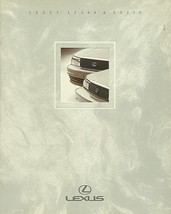 1991 LEXUS full line LS ES sales brochure catalog 91 US LS400 ES250 - $9.00