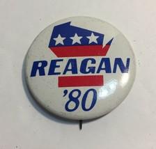 Vintage Political Pin 1984 Ronald Regan Pin Reagan Bush 84 Pin - $5.86