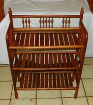 Solid Oak Bookshelf / Plant Stand Shelf - $299.00