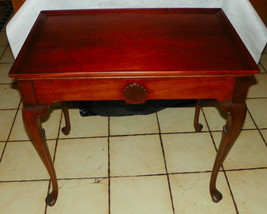 Mahogany Tea Table / Lamp Table - $399.00