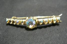 Vintage Unbranded Aurora Borealis Rhinestone Ha... - $2.51