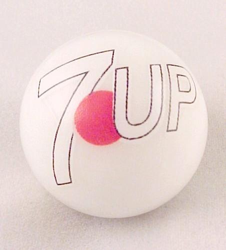 7 Upseven 7 Up Soda Pop Logo Marble Collectors Advertising