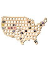 After 5 Workshop Beer Cap Map Natural - Large USA Map - $35.53