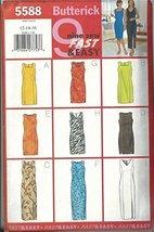 Butterick 5588, Misses' Dress with Neckline & Hem Variations. Size: 12-16 - $9.80
