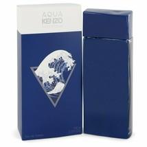 Aqua Kenzo by Kenzo 3.3 oz 100 ml EDT Cologne Spray for Men New in Box - $52.75