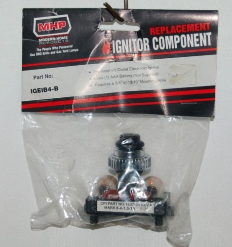 MHP IGEIB4B Replacement Universal 4 Outlet Electronic Ignitor Bagged