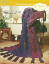 Needlecraft Shop Crochet Pattern 952200 Boudoir Lace Afghan Collectors S... - $4.99