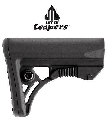 Primary image for UTG/Leapers * PRO Ops Ready S3 Mil-spec Stock Black * RBUS3BMS * New!