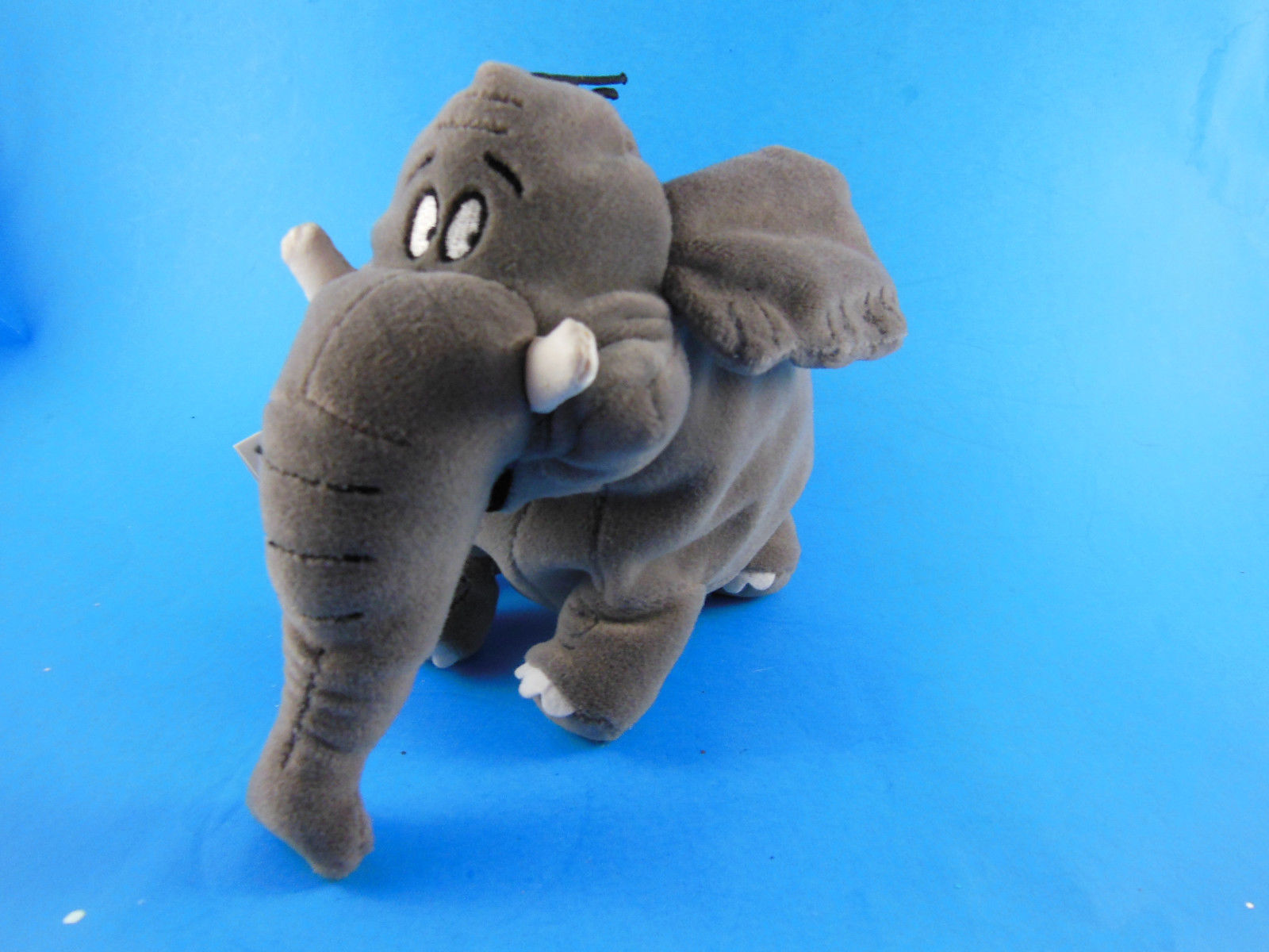 "Primary image for DISNEY STORE BEAN BAG SHEP elephant Plush 8"" George of the Jungle Mint With Tag"