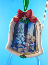 "M.J. Hummel Wonder of Christmas Resin Bell Shaped Ornament 3.5""  Danbury... - $6.92"
