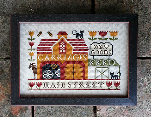 Primary image for Carriage House On Main cross stitch chart Carriage House Samplings