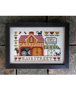 Carriage House On Main cross stitch chart Carriage House Samplings - $9.00