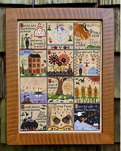 Primary image for A Year At Hawk Run Hollow cross stitch chart Carriage House Samplings