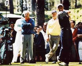 Arnold Palmer Jack Nicklaus Tiger Woods GC Vintage 8X10 Color Memorabilia Photo - $6.99