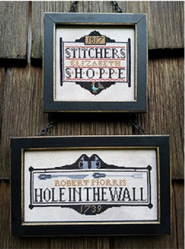 Primary image for Tavern Signs Revisited cross stitch chart Carriage House Samplings