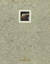 1990 LEXUS full line LS ES sales brochure catalog 90 US LS400 ES250 - $9.00